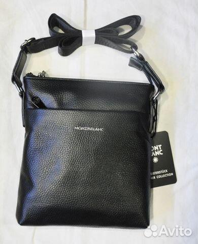 b932e376dd72 Мужская сумка через плечо / Mont Blanc / новая | Festima.Ru ...