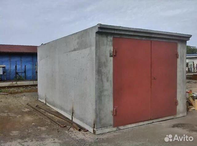 бетонный блок гараж