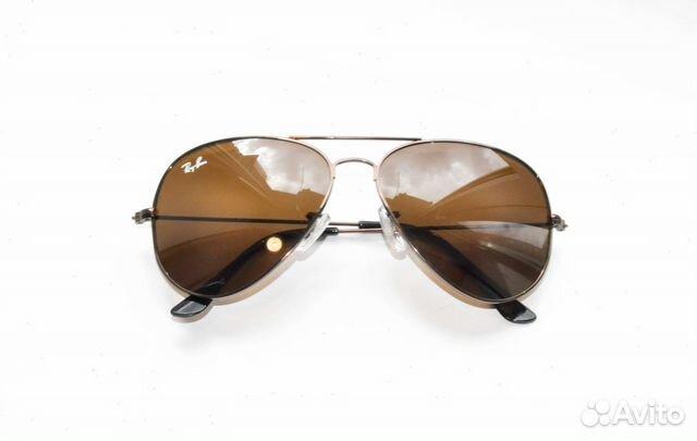 Очки Ray Ban Aviator 3026 коричневый коричневый   Festima.Ru ... 1bbdfc55099