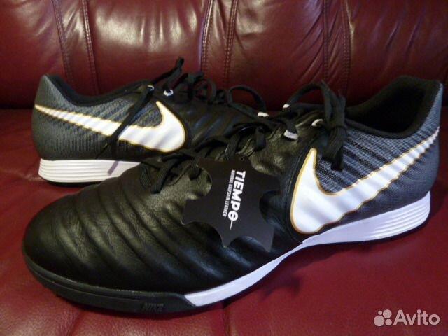 30d02433 Сороконожки Футзалки Nike Tiempo Ligera Кожа купить в Москве на ...