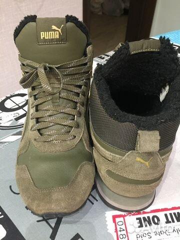 Кроссовки высокие мужские Puma ST Runner Mid Fur купить в Москве на ... 5aed65740cd