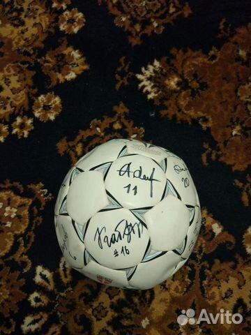 Мяч с автографами торпедо мск 2006г 89118440667 купить 1