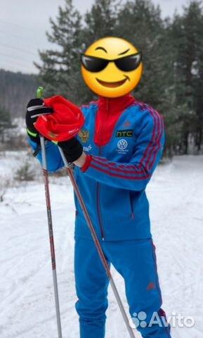 cc16f8e0790b Лыжный костюм Сборной России лыжи биатлон купить в Республике ...