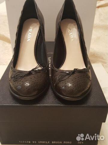 Туфли prada, 36.5 размер   Festima.Ru - Мониторинг объявлений 36adf217c4b