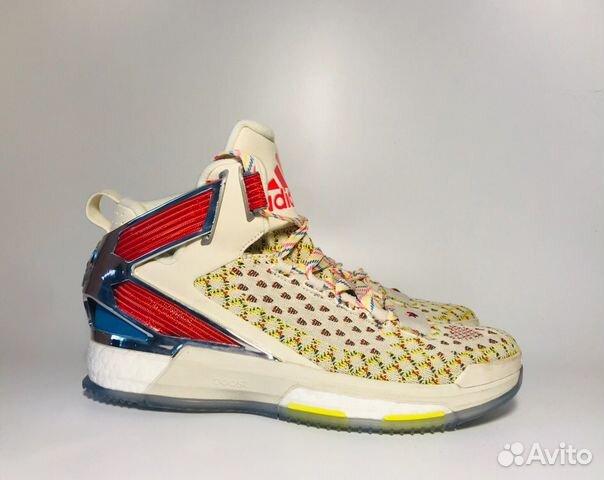 3e9a115e Баскетбольные кроссовки Adidas D Rose 6 Boost ART— фотография №1