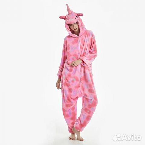 Детская пижама-кигуруми Единорог 7328544e06637