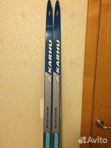 Беговые лыжи Karhu 173cm— фотография №1. Адрес  Санкт-Петербург ... 6a7737fe76f