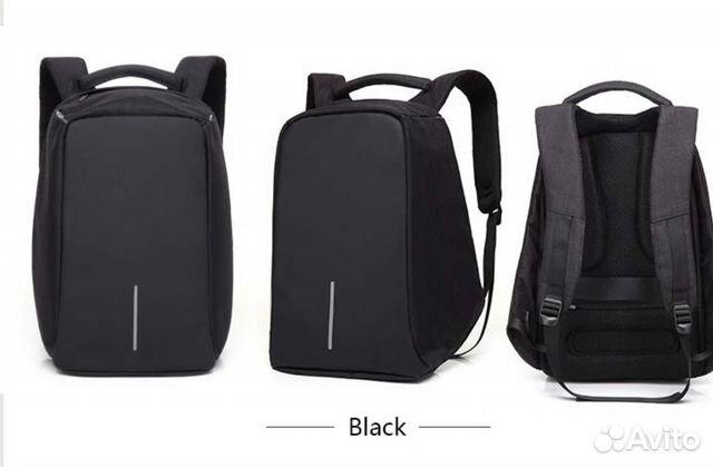 da4c1d1debbe Городской рюкзак антивор XD Design Bobby. Чёрный