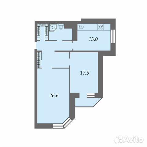Продается двухкомнатная квартира за 15 300 000 рублей. ул. Петрозаводская, 24 корп. 2.