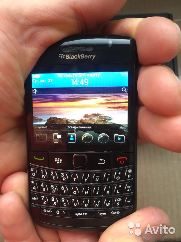 BlackBerry bold 9780 купить в Санкт-Петербурге на Avito