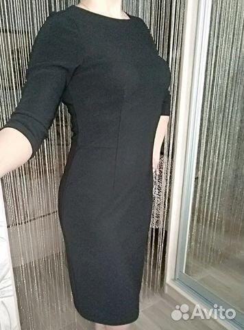 399ad1add5824 Платье классическое черное купить в Пермском крае на Avito ...