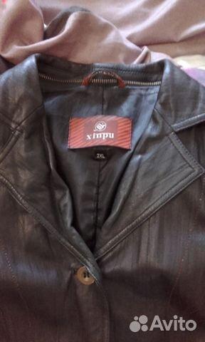 Кожаный пиджак 89137417780 купить 2