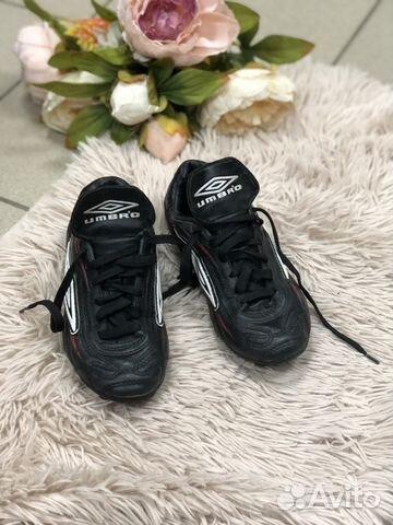 f2b93aae Бутсы кроссовки для футбола umbro кожаные купить в Тульской области ...