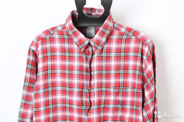 d2273c6a27f Рубашка в клетку Chaps by Ralph Lauren 2XL 34999 купить в Санкт ...