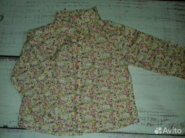 Рубашки Zara baby 9-12 мес 89231409967 купить 3