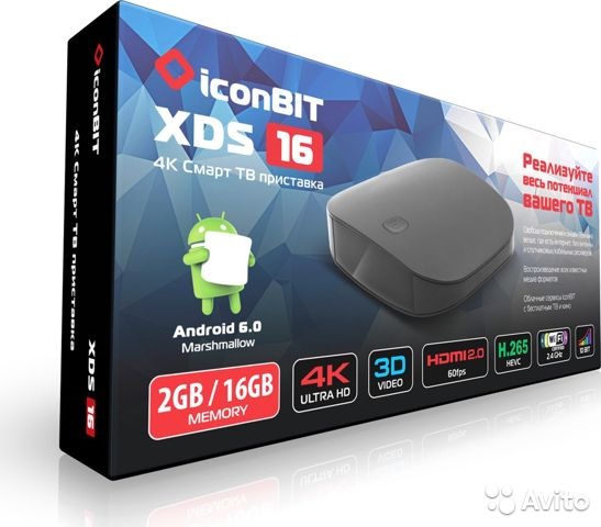 Медиаплеер iconbit XDS16, Black