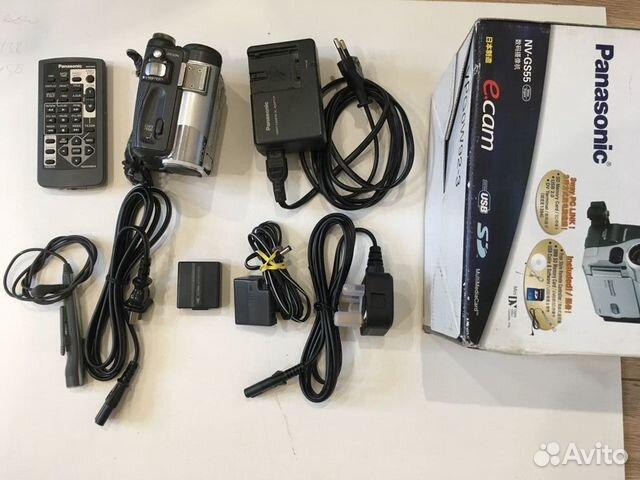 Видеокамера Panasonic NV-GS55