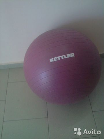 Мяч гимнастический kettler 89608509006 купить 1
