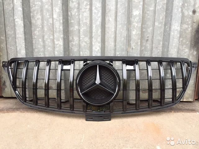 Mercedes GLE 292 Black решетка радиатора
