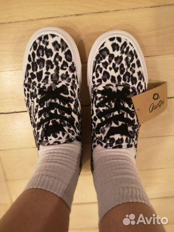 Леопардовые кроссовки, кеды тренд 2019 купить 3
