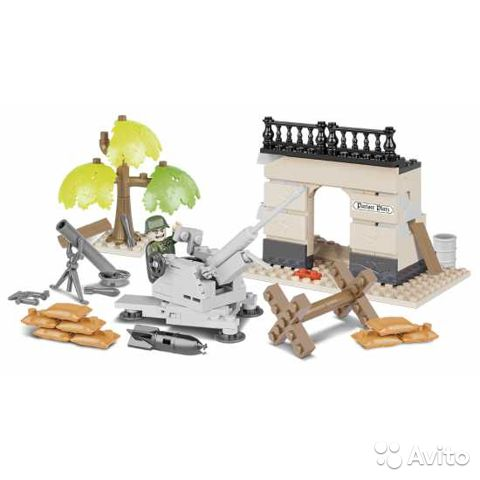 Konstruktor Lego Cobi Zenitka 2388 I Minomyot 2182 Kupit V Noginske Lichnye Veshi Avito