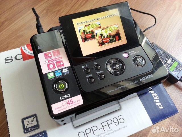 Фотопринтер Sony DPP-FP95 89028610007 купить 3