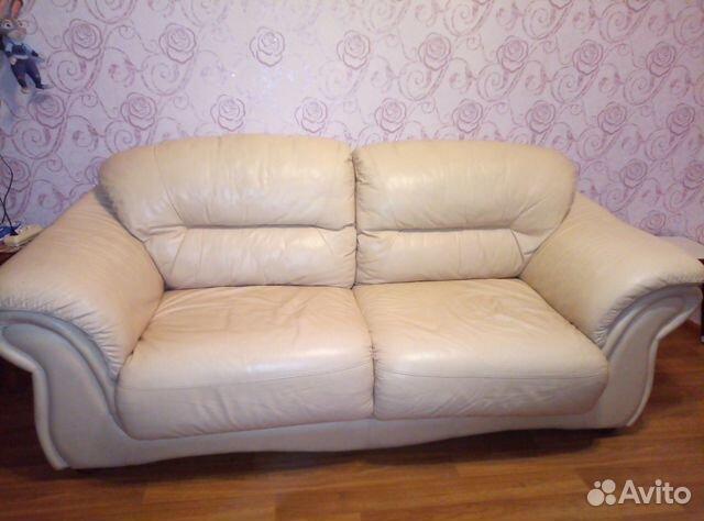 Диван кожаный  89522555241 купить 2