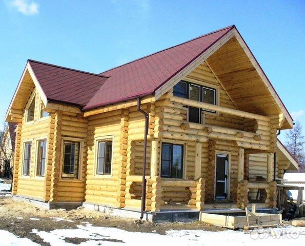 Дома из оцилиндрованного и рубленого бревна 89127347064 купить 4