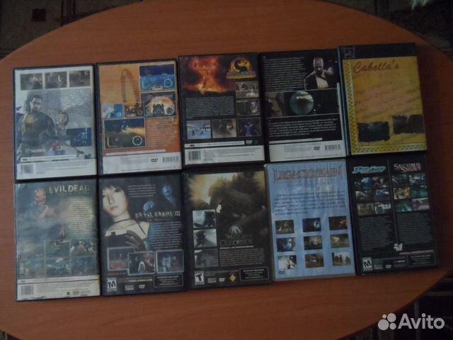 Игры для PS2, 10 шт  89878133185 купить 2