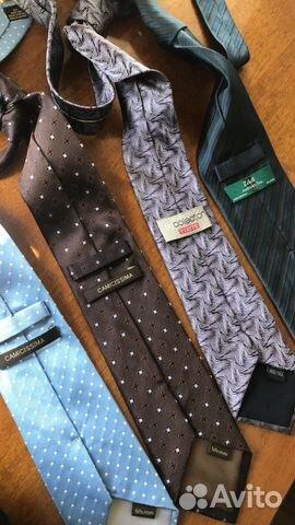 Итальянские шелковые галстуки camicissima, Zadi An  89062140028 купить 2