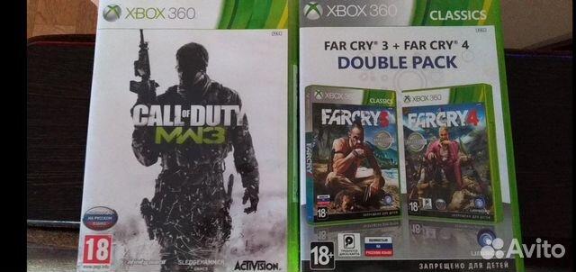 FarCry3,FarCry4,Call of Duty: Wodern Warfare 3