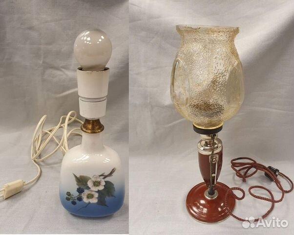 Лампы настольные Винтажные  89218709091 купить 1