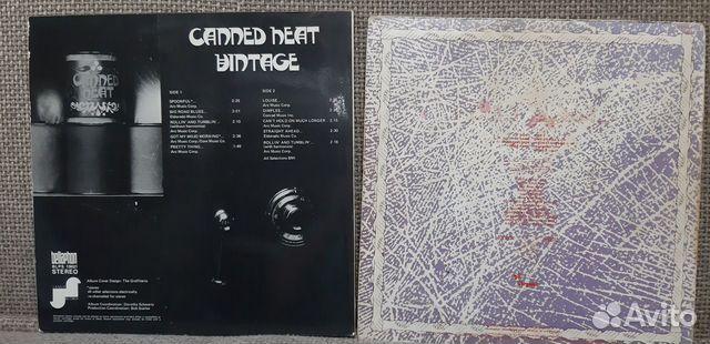 Lp Canned Heat/Gentle Giant/EX+/EX Ger  купить 2