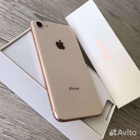 iPhone 8 64гб золото оригинал новый  89107310080 купить 3