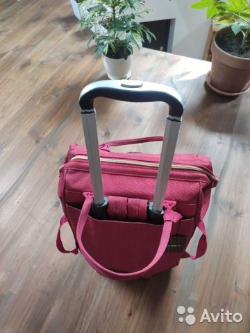Новая сумка-рюкзак дорожная на колесиках barrley p  89208787198 купить 1