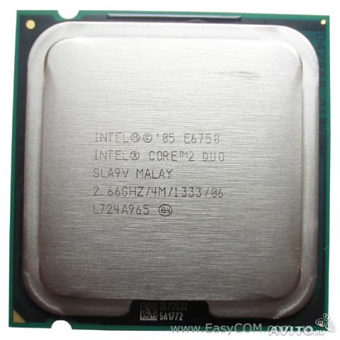 Intel Core 2 Duo E6750— фотография №1
