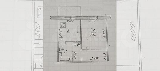 1-к квартира, 33.9 м², 3/10 эт. в Республике Татарстан | Покупка и аренда квартир | Авито