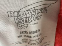 Футболка Red Wing Logo Ringer White — Одежда, обувь, аксессуары в Москве