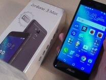 Смартфон asus ZenFone 3 Max (ZC520TL) 16 гб серый — Бытовая электроника в Геленджике