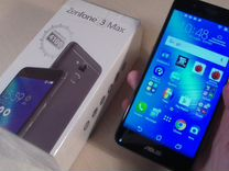 Смартфон asus ZenFone 3 Max (ZC520TL) 16 гб серый — Телефоны в Геленджике