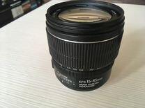 Новый Сanon 60d c объективом 15-85 f/3.5-5.6