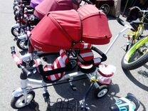 Велосипед для двойняшек или погодок
