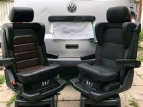 Т6 новые поворотные сиденья на мультиван t6
