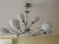 Подвесная люстра Arte Lamp Gardenia A2766LM-9CC