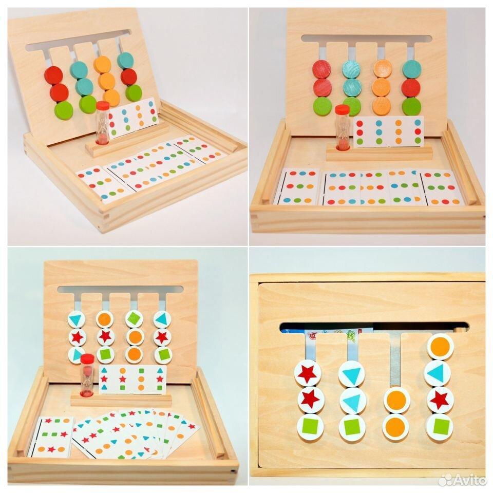 Логическая игра «4 цвета и 4 фигуры»  89603218602 купить 5