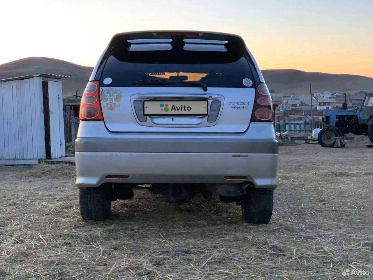 Toyota Nadia, 2000  89644602536 купить 5