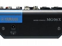 Новый микшерный пульт с эффектами Yamaha MG06X