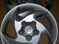 Колпаки Hyundai R 15 есть 3 шт