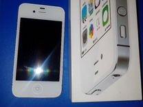 Продаю новый айфон 4s (белый)