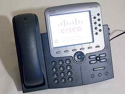 Cisco IP-телефоны новые с оригинальными лицензиями